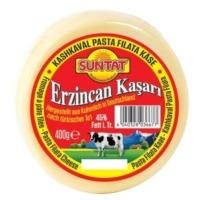 Suntat Erzincan Kasari yuvarlak / Kashkaval Schnittkäse rund 40% Fett 400g
