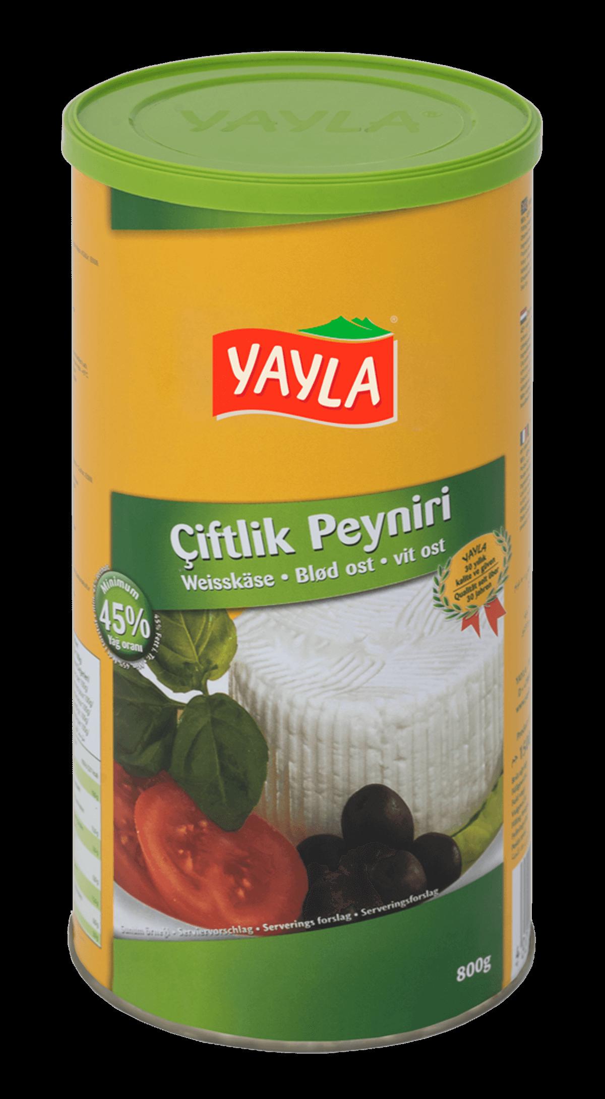 Yayla Ciftlik Peynir / Weißkäse 45% 1500g