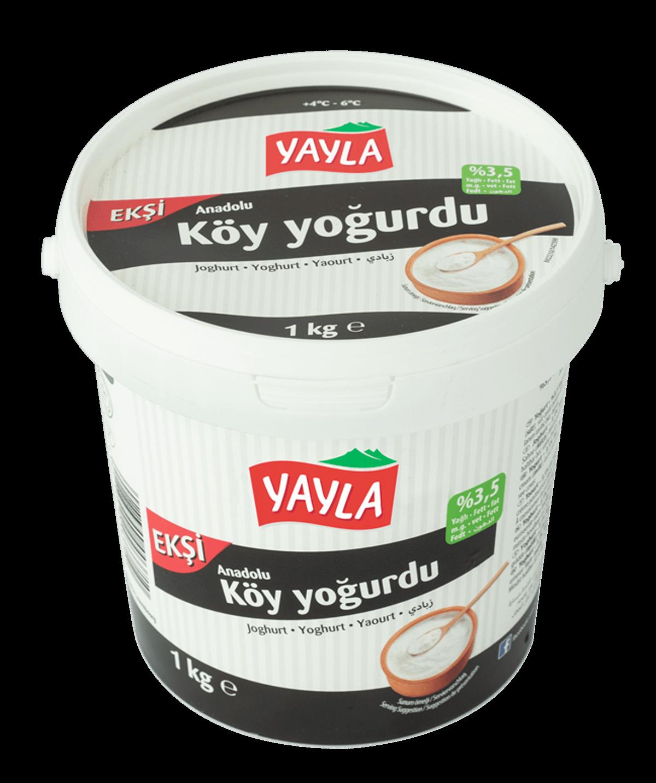 Yayla Köy Yogurdu eksi / Joghurt 3,5% 1kg