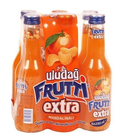 Uludag Frutti Extra Mandarin 6x250ml