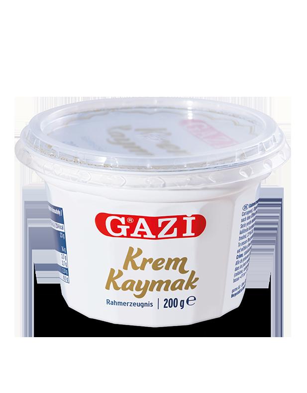 Gazi Krem Kaymak / Cremige Sahne 200g