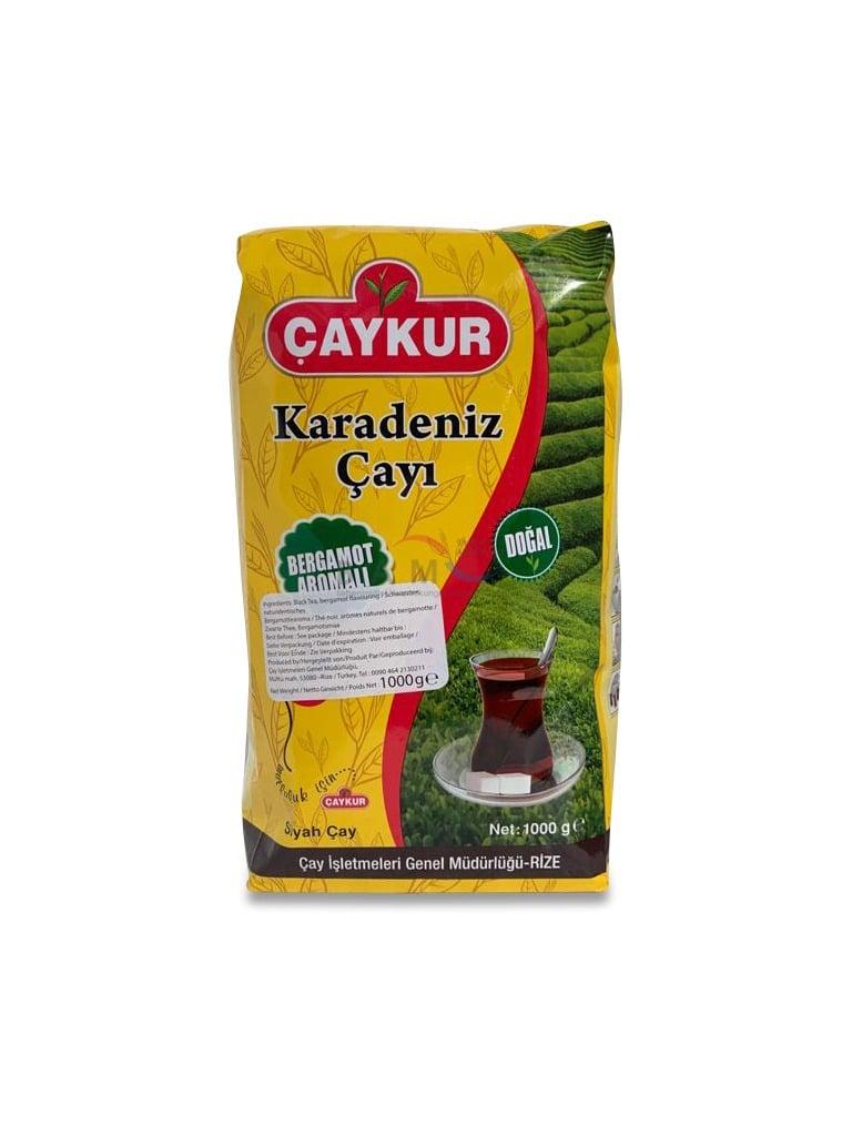Caykur Bergamot Aromali Karadeniz Cayi / schwarzer Tee mit Bergamotte-Aroma 1kg