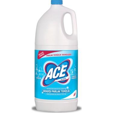 Ace Klasik Çamaşır Suyu 4LT
