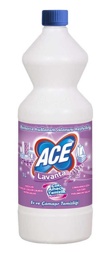 ACE Çamaşır suyu Lavanta 3ü bir arada 1LT