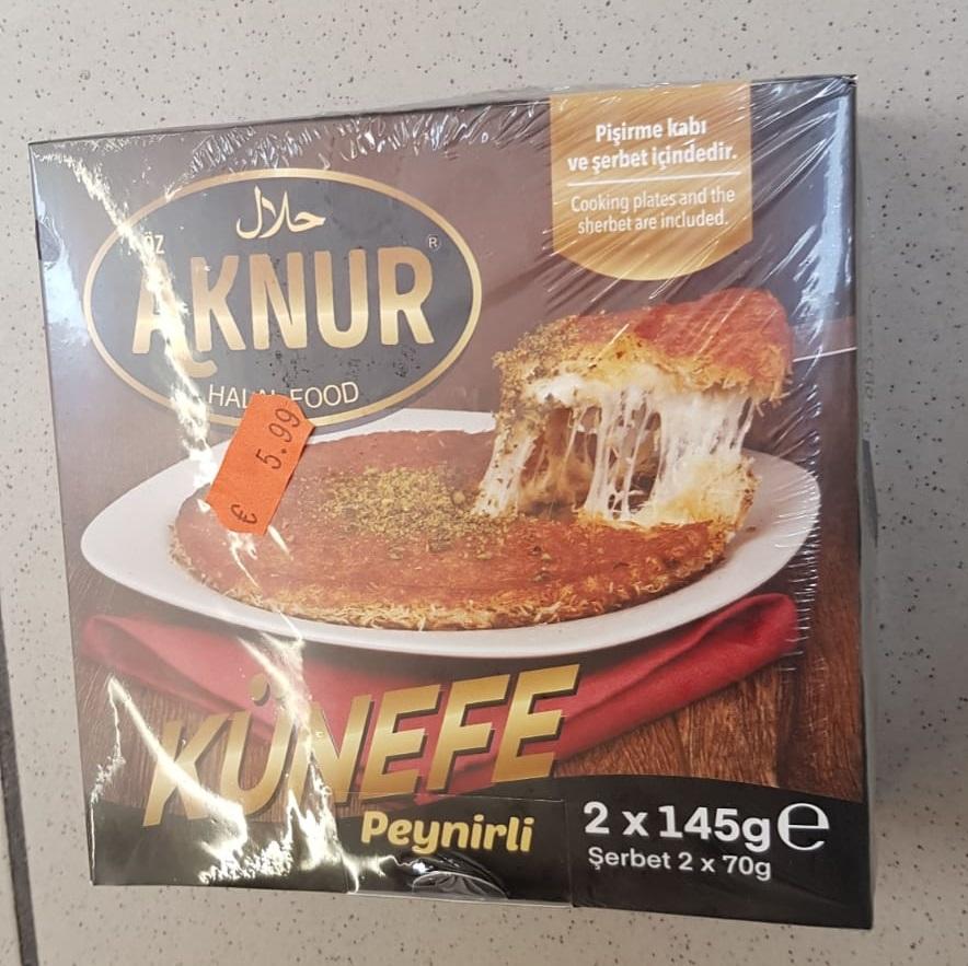 Aknur Künefe Peynirli 2x145gr