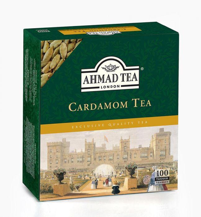 Ahmad Tea London Cardamom Tea 100 Adet