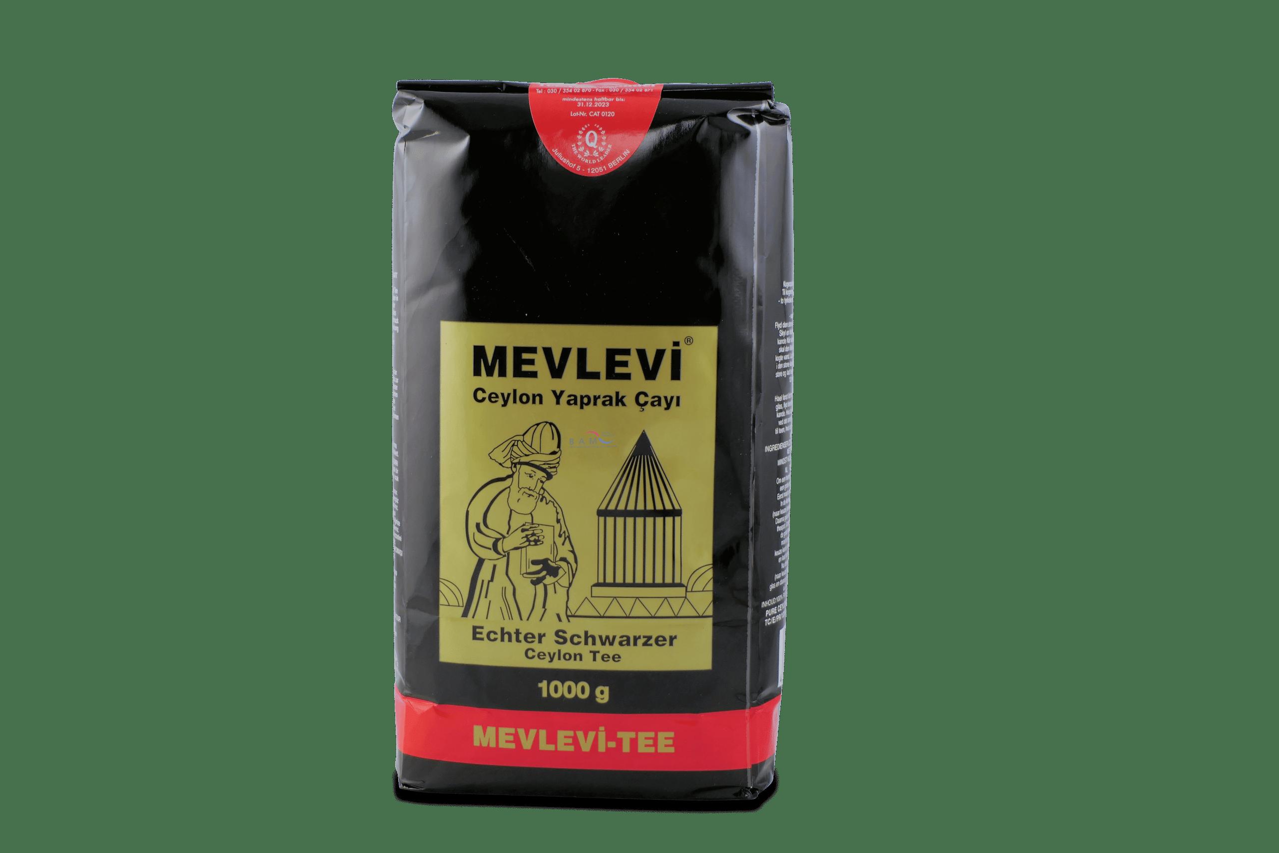 Mevlevi Ceylon Yaprak Çay? / Schwarzer Ceylon Tee 1000g