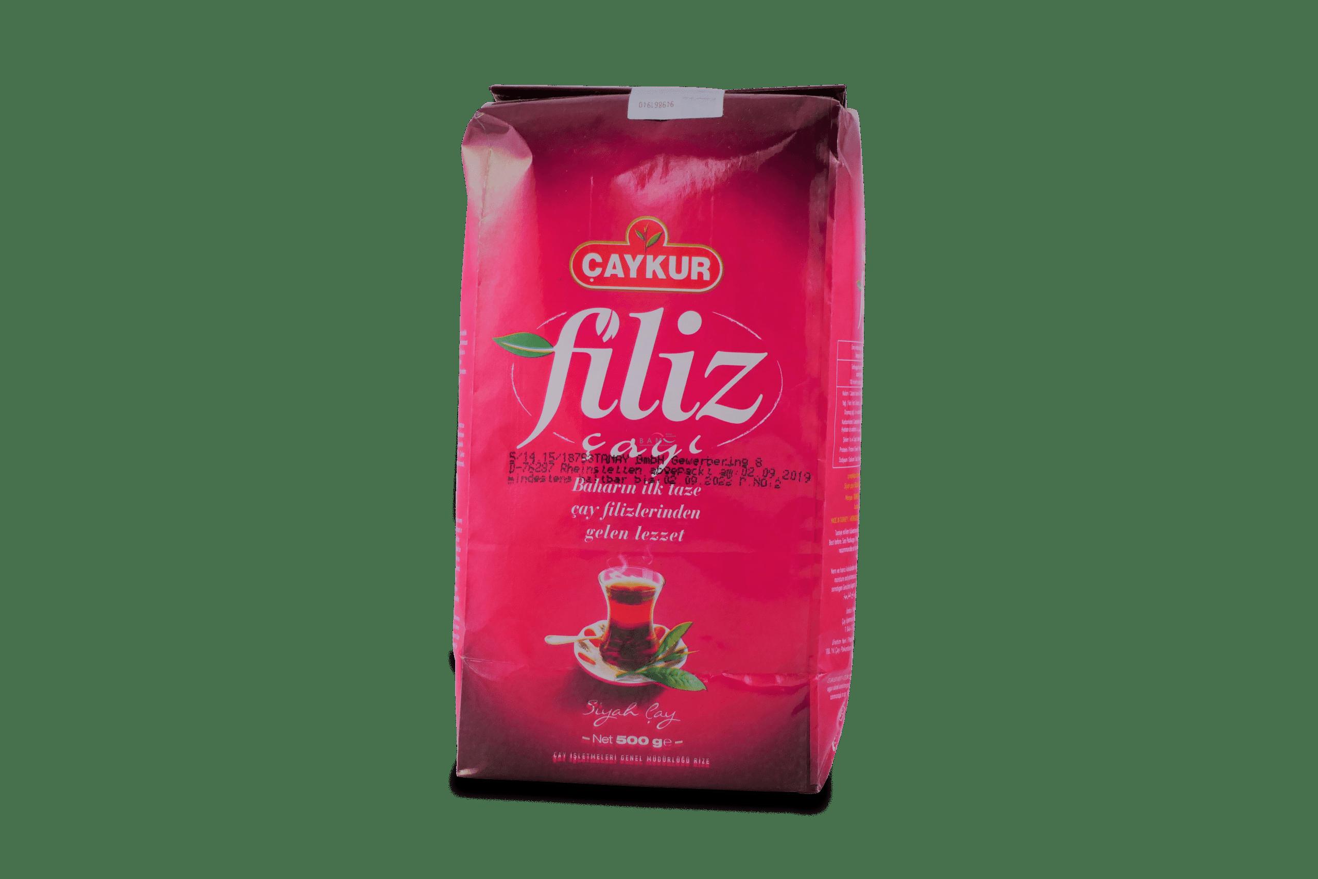Çaykur Filiz Çay? / türkischer schwarzer Tee 1000g
