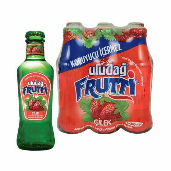 Uludag Frutti Strawberry 6x200ml