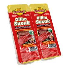 Suntat Dana Dilim Sucuk / Knoblauchwurst in Scheiben 150g