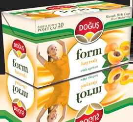 Dogus Form Aprikosentee