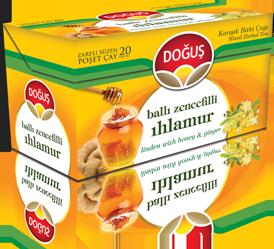 Dogus Lindenblütentee mit Honiggeschmack