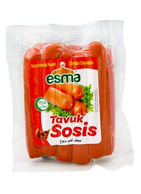 Esma Tavuk Sosis 550G