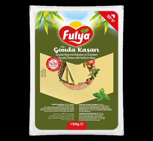 Fulya Dilimli Otlu Gouda / Gouda Käse mit Kräutern in Scheiben 150g