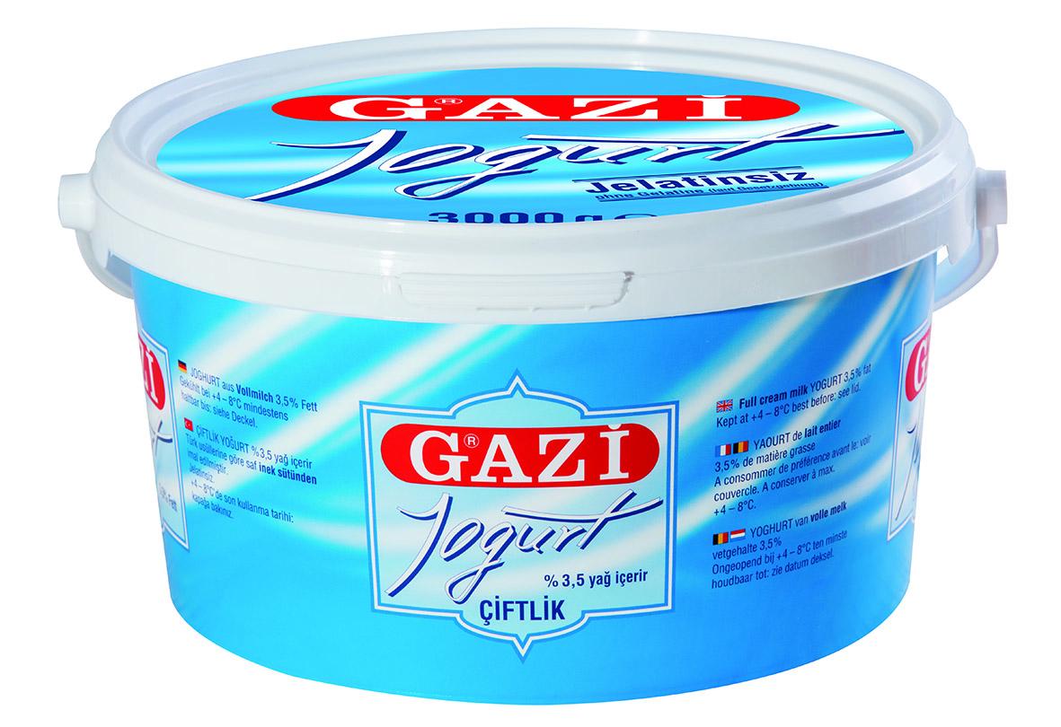 Gazi 3,5% Joghurt 3kg