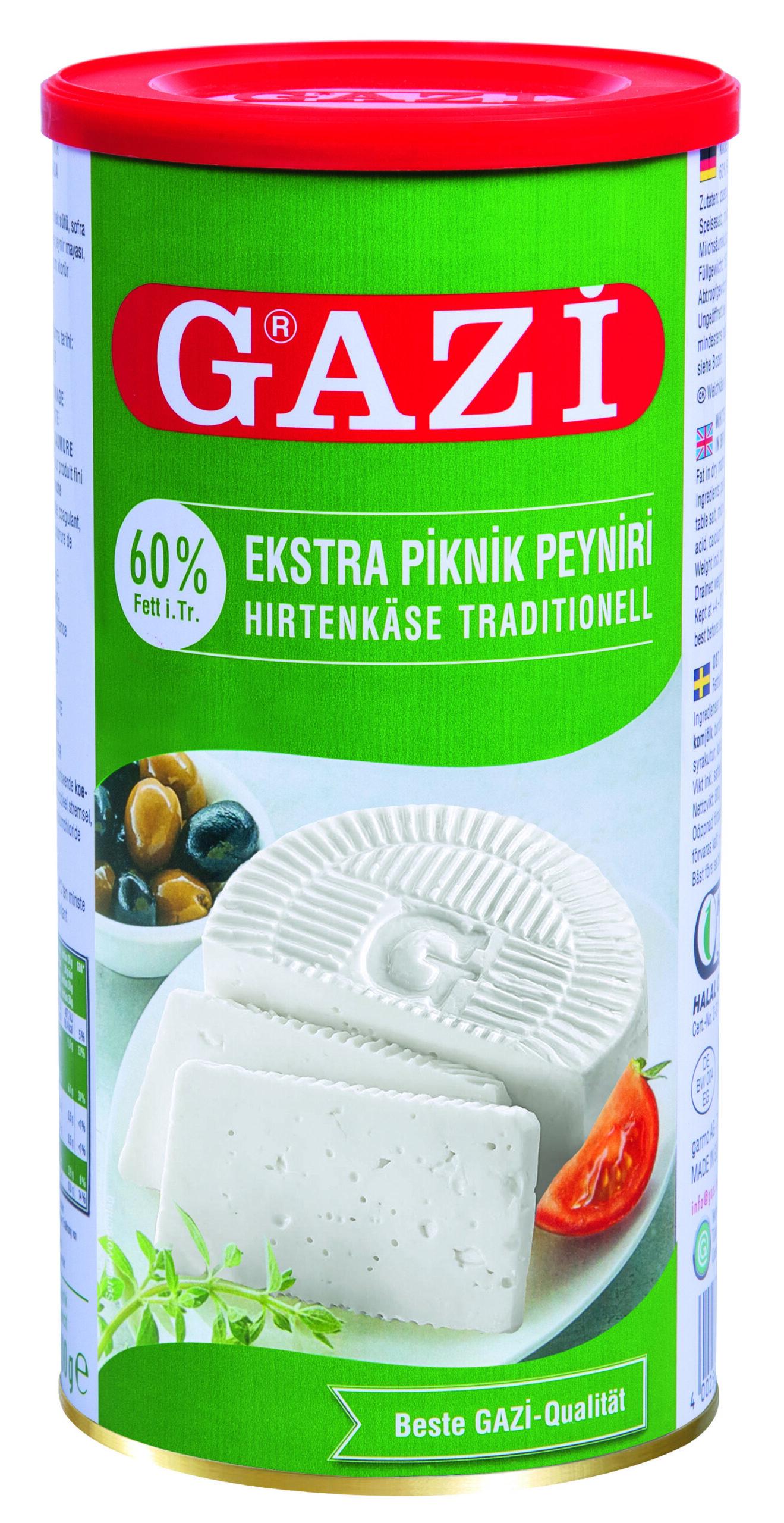 Gazi 60% Hirtenkäse 1kg