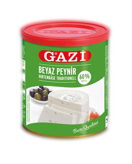Gazi Beyaz Peynir 60% Yağlı 500G
