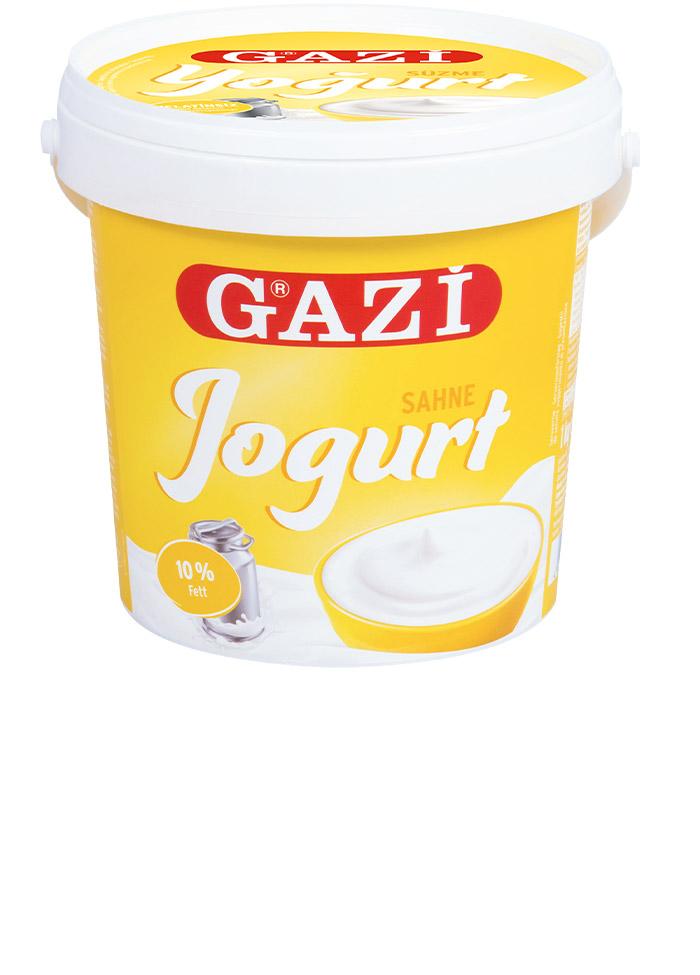 Gazi Süzme Yogurt / Natur Joghurt 10% 1kg