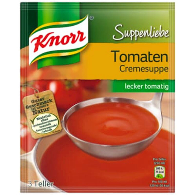 Knorr Suppenliebe Tomaten Cremesuppe 62g