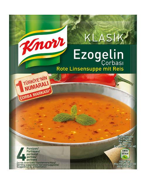 Knorr Rote Linsensuppe mit Reis/ Klasik Ezogelin Corbasi 65g