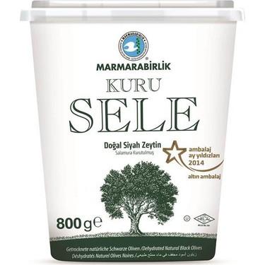 Marmarabirlik Dogal Siyah Zeytin / getrocknete natürliche schwarze Oliven gr. S 800g