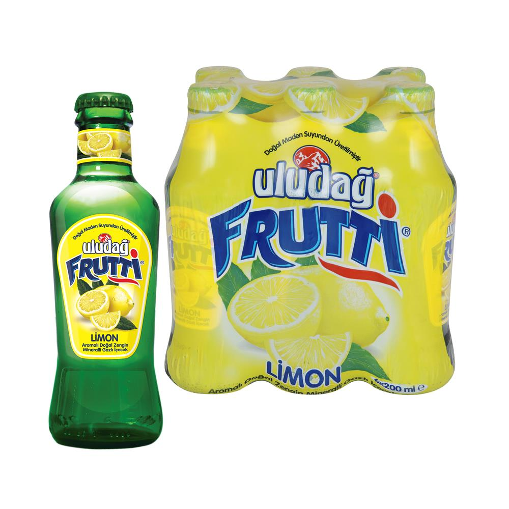 Uluduag Frutti Lemon 6x200ml