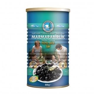 Marmarabirlik Özel Aile Tipi Siyah Zeytin 800G