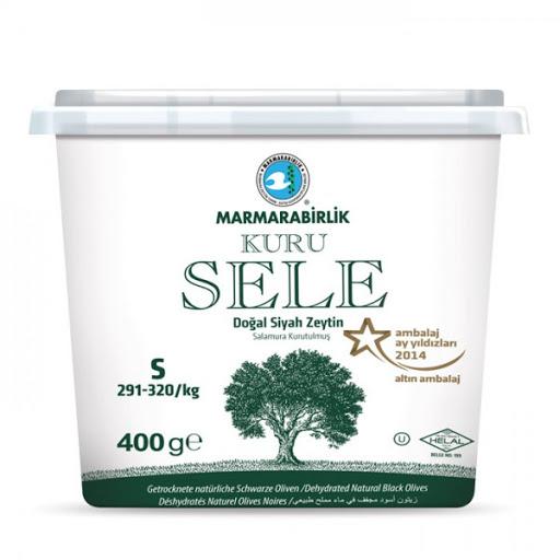 Marmarabirlik Gemlik Schwarze Oliven (Getrocknet)