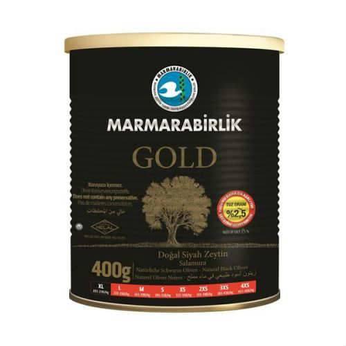 Marmarabirlik Gold Siyah Zeytin 400G