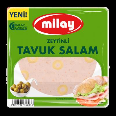 Milay Zeytinli Tavuk Salam 200G