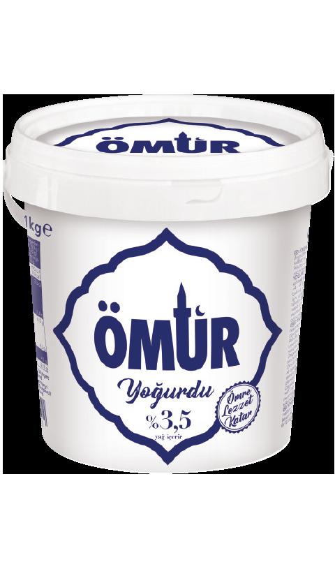 Ömür Yogurdu/Natur Joghurt 3,5% 1kg