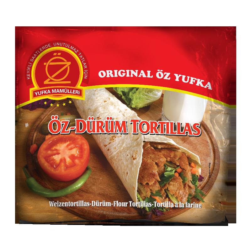 Öz Yufka Mamülleri Öz-Dürüm Tortilla