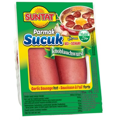 Suntat Parmak Sucuk acili / Knoblauchwurst 500g