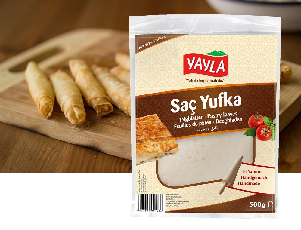 Yayla Sac Yufka / Blätterteig 500g