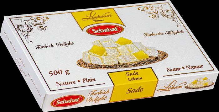 SEBAHAT Türkische Süßigkeit Natur