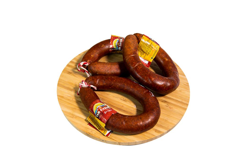 Knoblauchwurst 1 KG