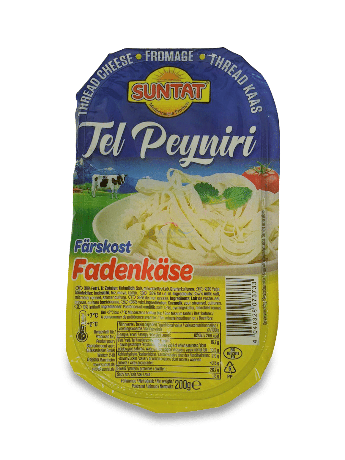 Suntat Tel Peyniri / Fadenkäse 200g