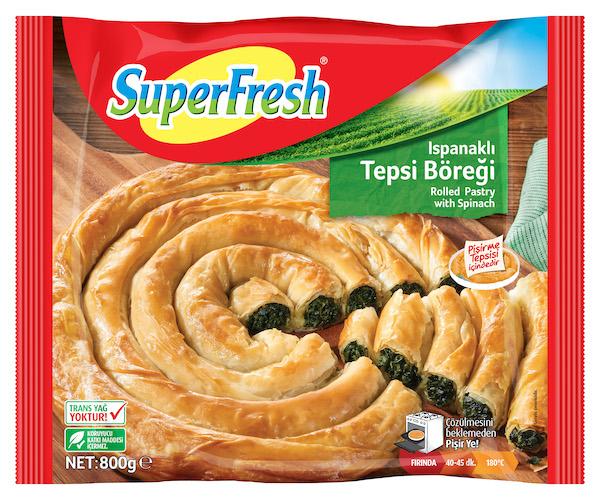 Superfresh Blätterteig mit Spinat