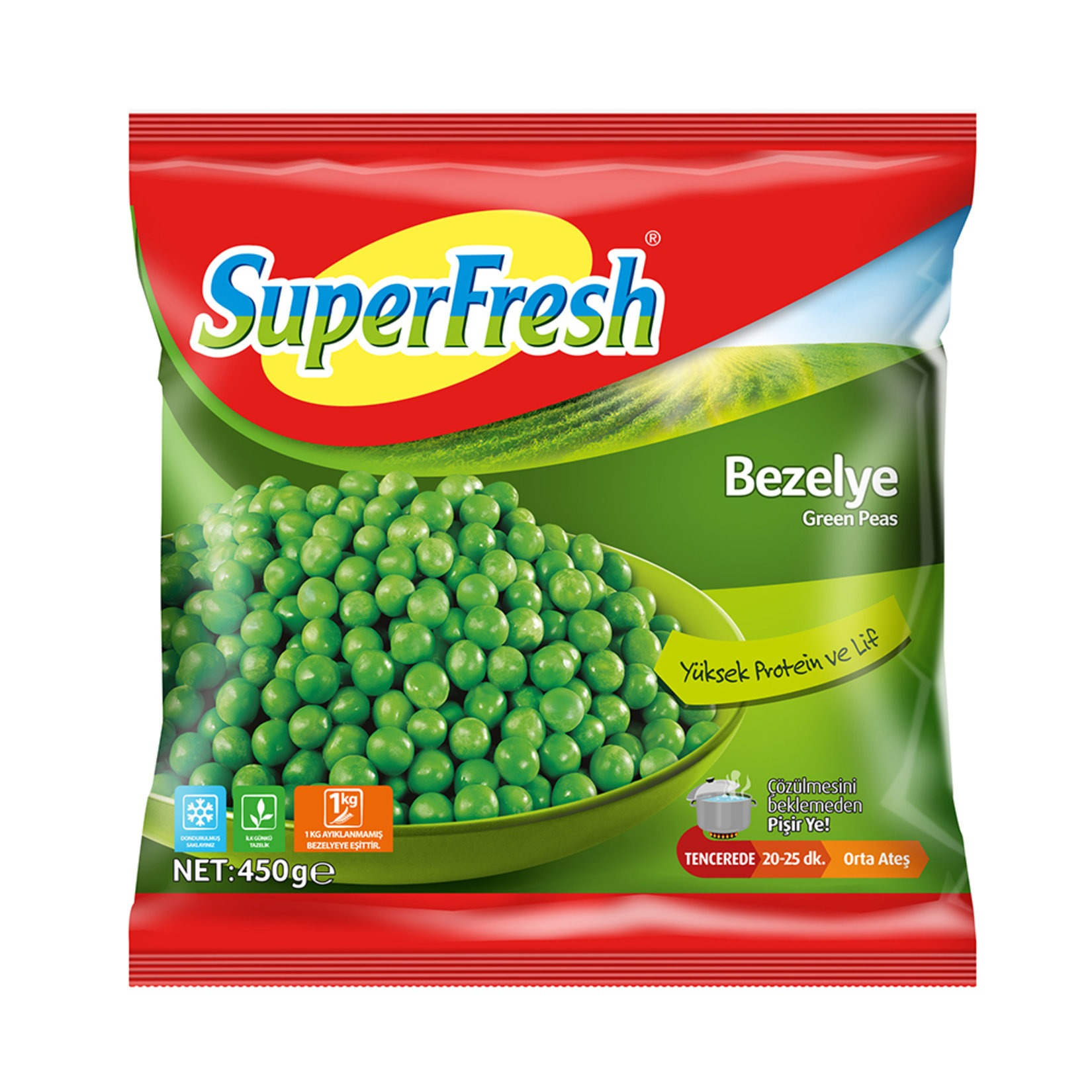 SuperFress Peas 450gr