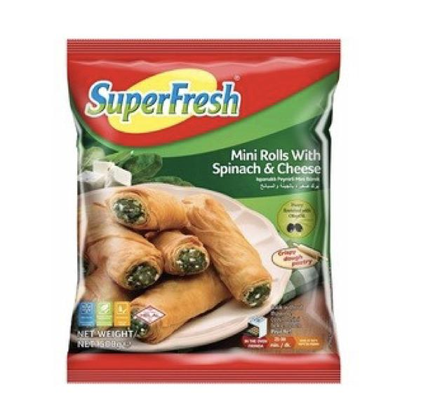 Süperfress Minirol Spinach & Cheese 500gr