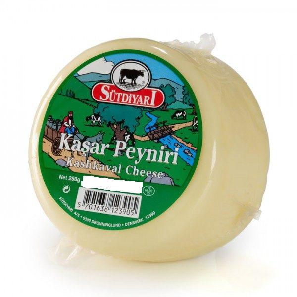 Sütdiyarı Kaşar Peyniri 250G