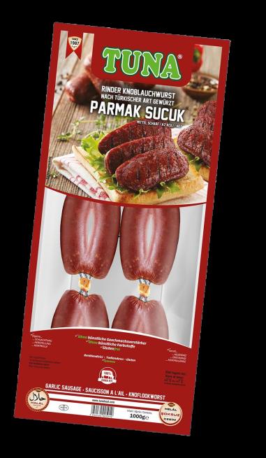Tuna Rinder Knoblauchwurst