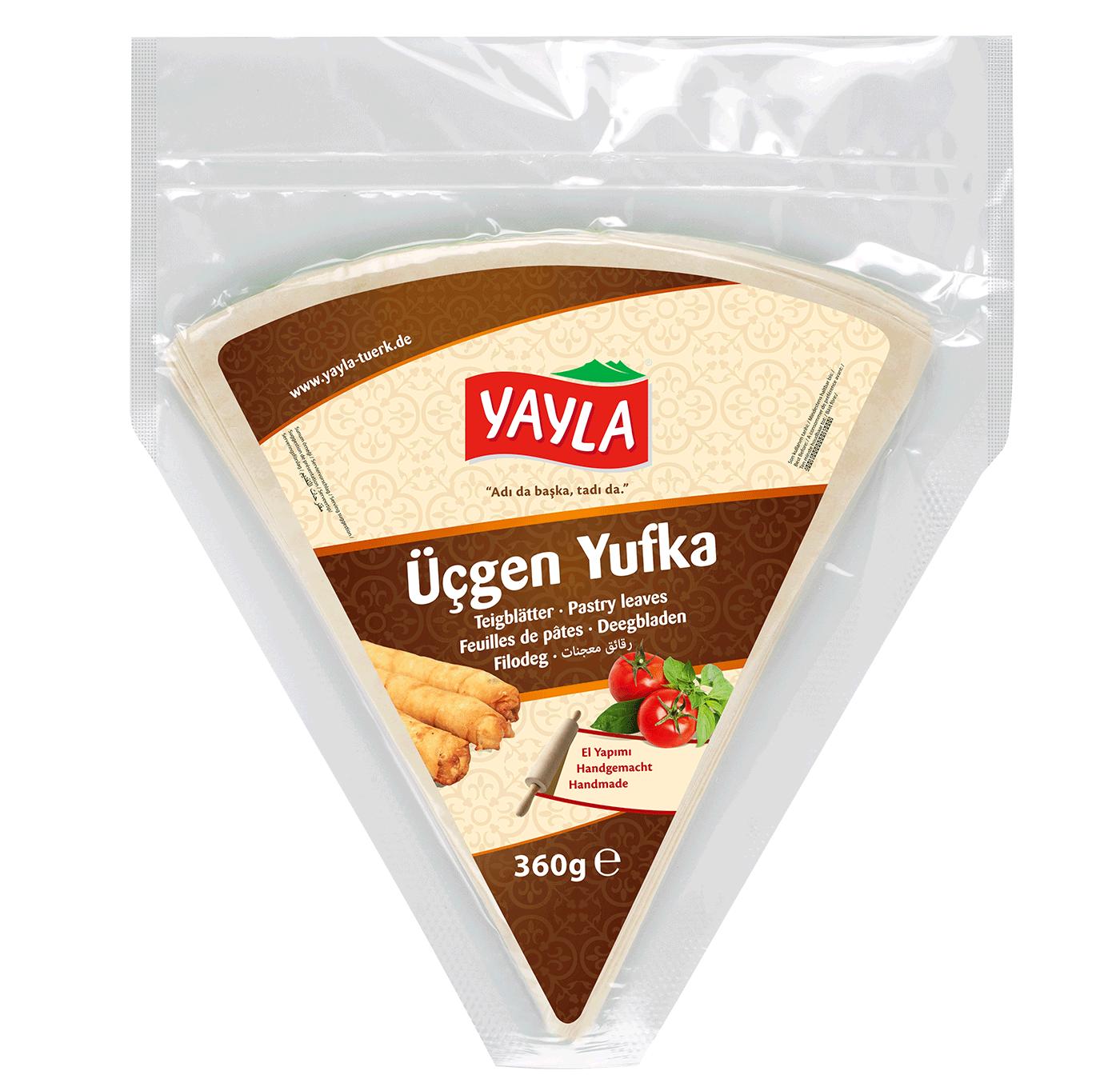 Yayla Ücgen Yufka / Dreieckiger Blätterteig 360g