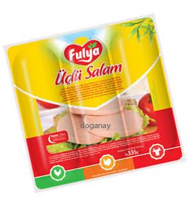 Fulya Üclü Salam Tavuk/Hindi/Sigir / Hühner-, Puten- und Rinderwurst 3x335g