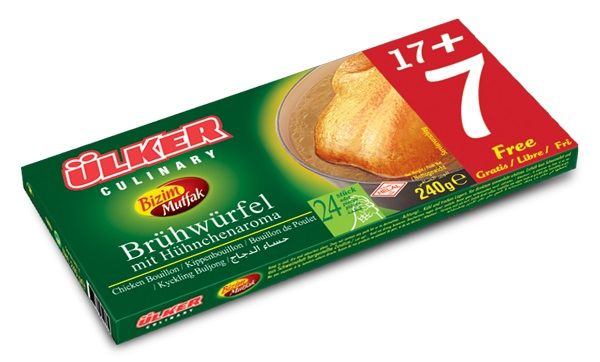 Ülker Bizim Mutfak Brühwürfel mit Hähnchenaroma