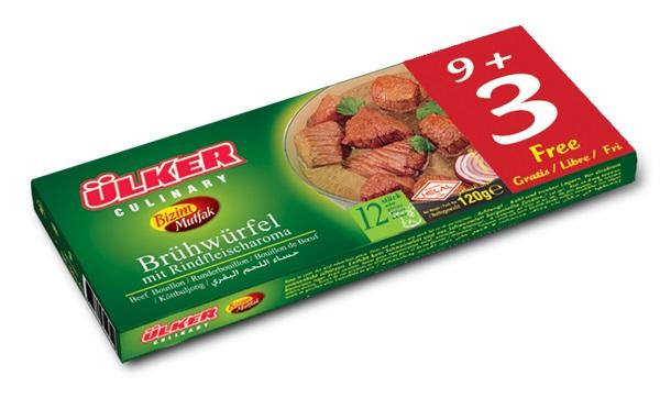 Ülker Bizim Mutfak Brühwürfel mit Rindfleischaroma