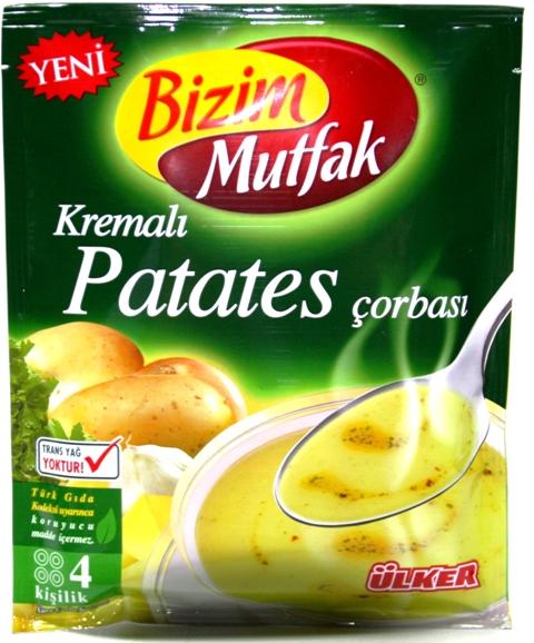 Ülker Bizim Mutfak Kartoffel-Cremesuppe