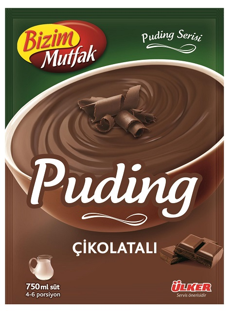 Ülker Bizim Mutfak Schokoladen-Pudding