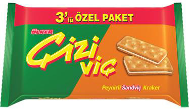 Ülker Cizi Vic Sandwich Käse-Cracker