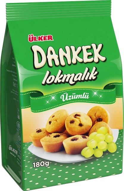 Ülker Dankek Mini Muffins Weintraube